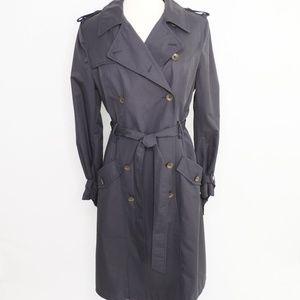 Rag + Bone Classic Navy Military Trench Coat
